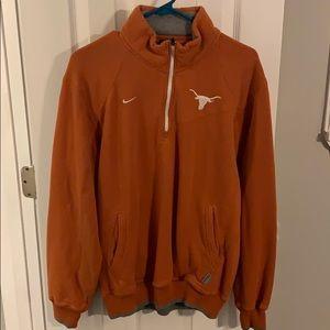 Texas Longhorns zip up fleece